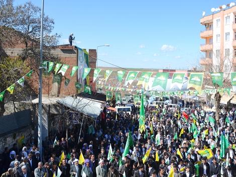 """Çınar'da konuşan Yapıcıoğlu: """"Kötü gidişe dur demek için yola"""