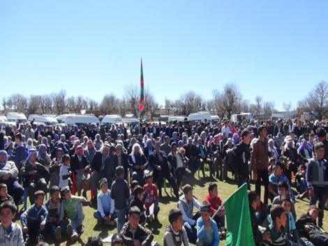 Karacadağ Şarge köyü peygambere biat yeniledi