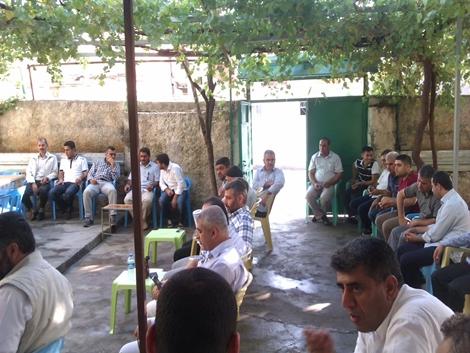 Çınar Şefkat Der üye ve gönüllüleri ile bayramlaştı