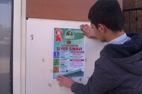Çınar'da kutlu doğum siyer sınavı başvuruları başladı
