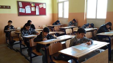 Çınar'da Kutlu Doğum Siyer Sınavına yoğun katılım