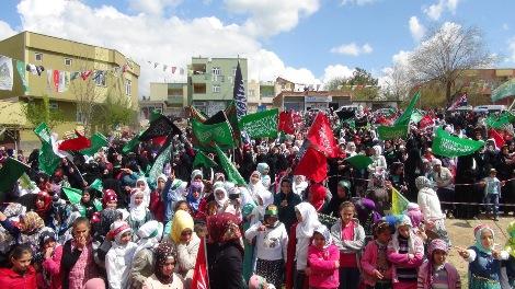 Çınar'da Kutlu Doğum coşkusu 2015
