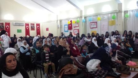 Çınar Anadolu İHL kız öğrencileri Kutlu Doğum etkinliği düzenledi