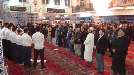 Çınar'da Mevlit Kandili camilerde ihya edildi