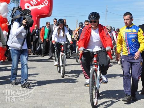 Hasankeyf'te 'Uluslararası Dağ Bisikleti' Şampiyonası Yap 4