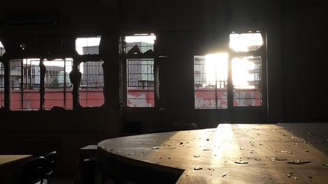 Çınar'daki patlamada Çınar İmam Hatip Lisesi büyük zarar gördü