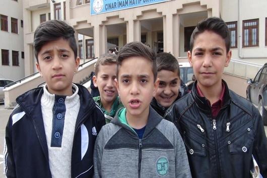 Çınar'da 18 noktada siyer sınavı yapıldı 1