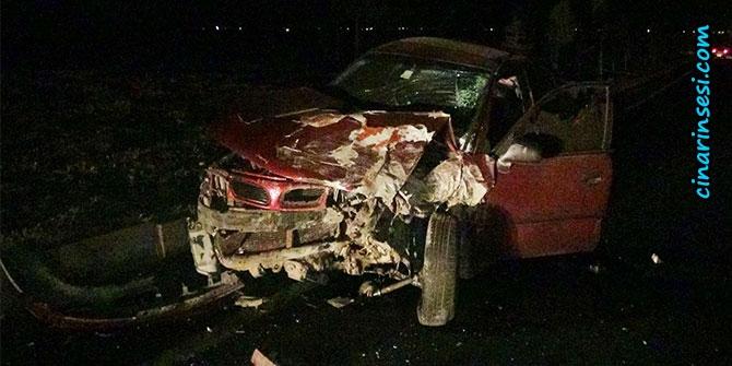 Çınar Beşpınar yakınlarında trafik kazası: 3 yaralı 1