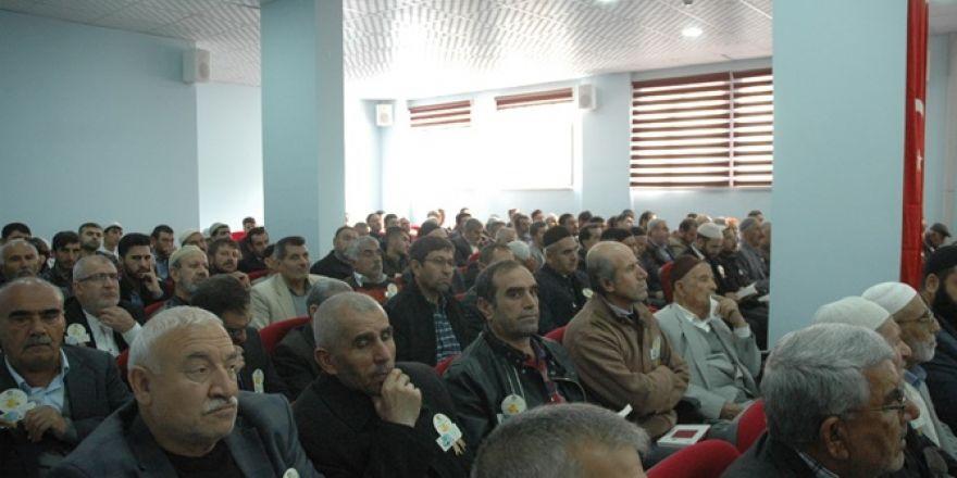 Çınar Müftülüğü 'Mevlid-i Nebi' etkinliği düzenledi