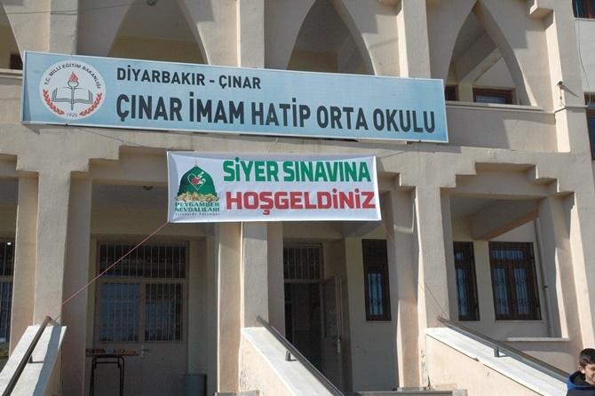 Çınar'da 18 noktada Siyer Sınavı yapıldı 2019 1