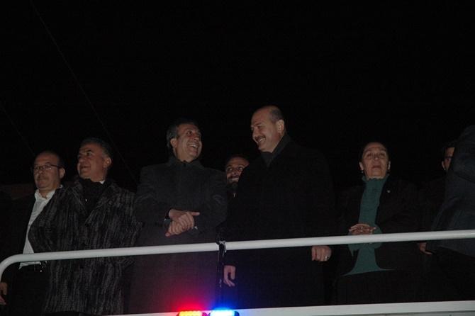 İçişleri Bakanı Süleyman Soylu Çınar'da 1