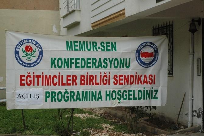 Çınar Eğitim Bir-Sen temsilcilik binası açıldı 1