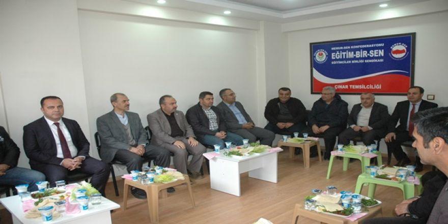 Çınar Eğitim Bir-Sen temsilcilik binası açıldı