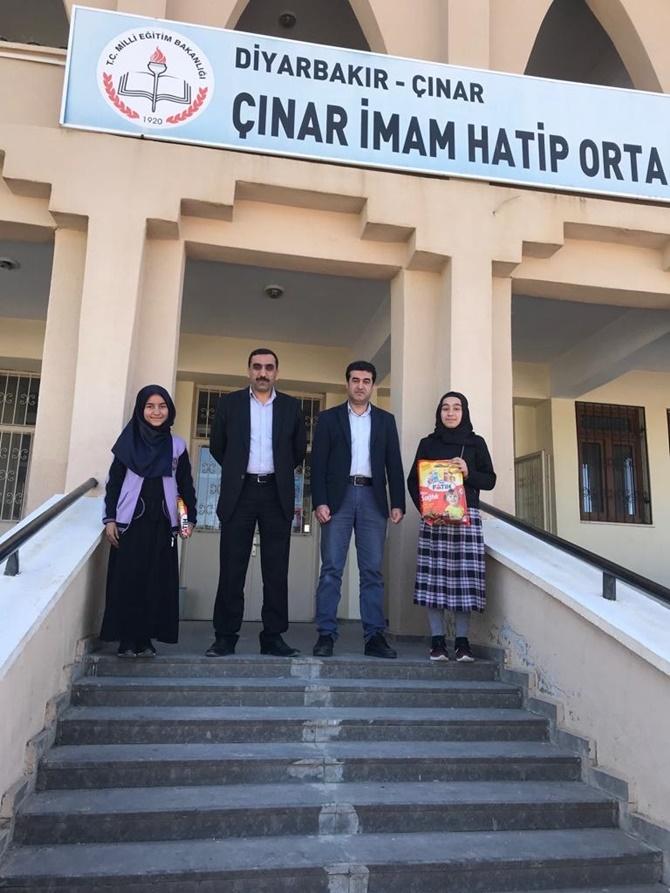Siyer Sınavında Çınar'da dereceye girenlere ödüller verildi 1