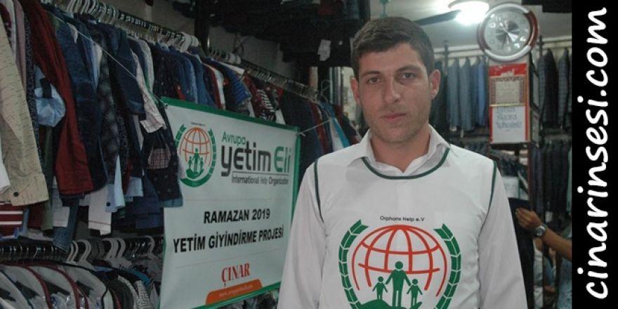 Avrupa Yetim Eli, Çınar'da yetimleri giydirdi