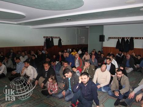 Hamburg'da 'Mazlum Halepçe' Programı 1