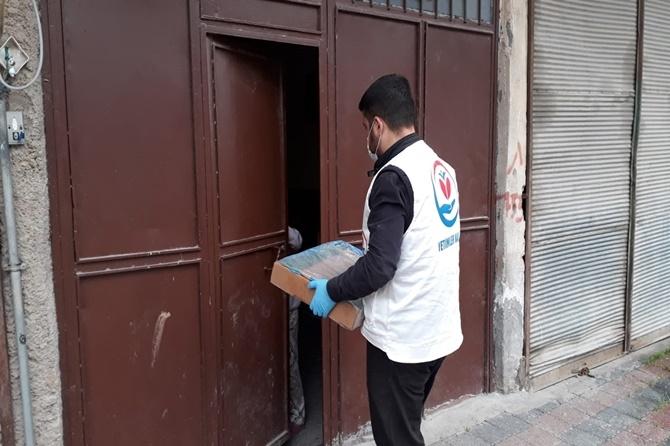 Çınar'da ihtiyaç sahibi 300 aileye kanatlı et yardımı 1