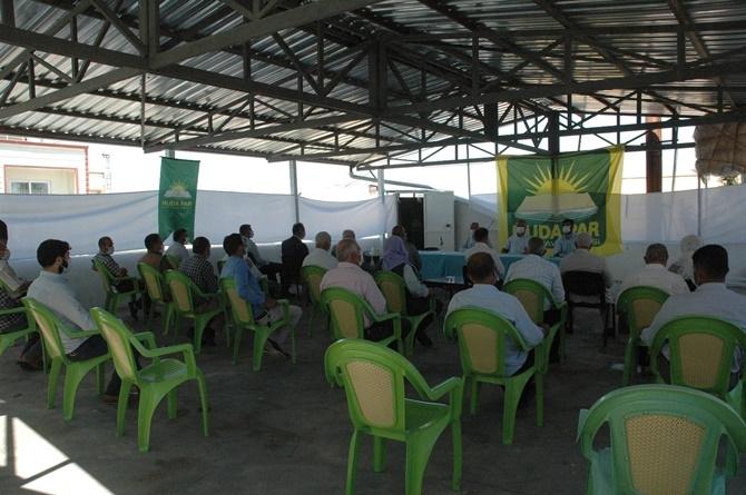 HÜDA PAR Çınar ilçe teşkilatının 3'ncü olağan kongresi yapıldı 1