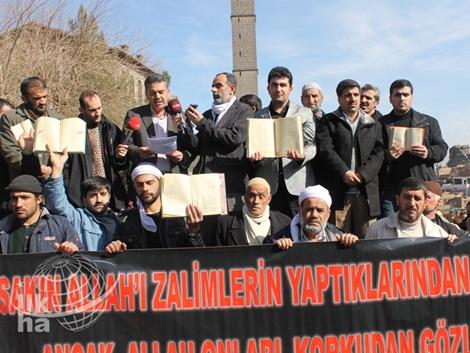 Diyarbakır'dan Kur'an Yakan ABD'ye Büyük Öfke 1