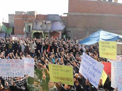 Diyarbakır'dan Kur'an Yakan ABD'ye Büyük Öfke 10