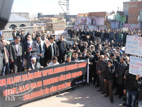 Diyarbakır'dan Kur'an Yakan ABD'ye Büyük Öfke 3