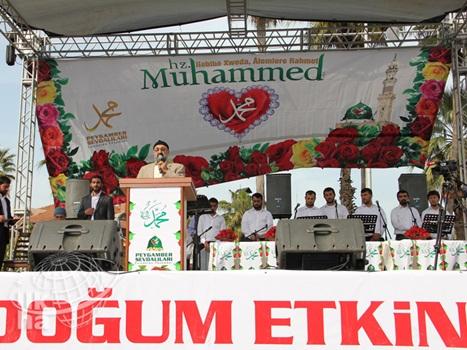 Adana İstasyon Meydanında Kutlu Doğum Coşkusu 5