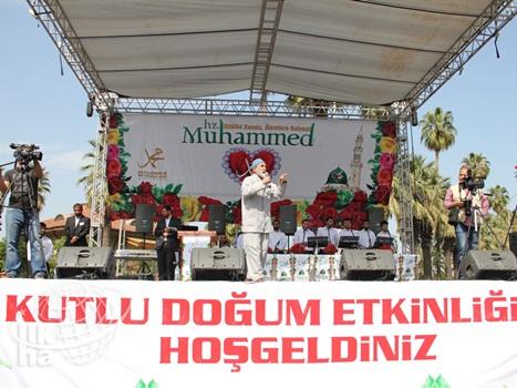 Adana İstasyon Meydanında Kutlu Doğum Coşkusu 7