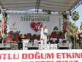 Adana İstasyon Meydanında Kutlu Doğum Coşkusu