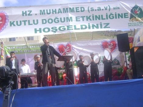 Sultan Şêxmus'ta Kutlu Doğum Coşkusu 14
