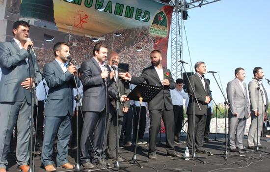 İstanbul Kazlıçeşme Meydanı Peygamber Sevdasıyla Coştu 12