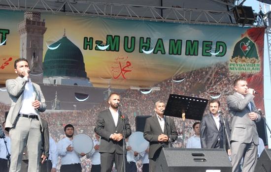 İstanbul Kazlıçeşme Meydanı Peygamber Sevdasıyla Coştu 8