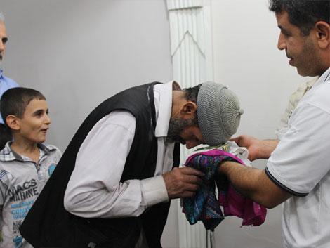Mustazaflar Cemiyetinde Hırka-i Şerif Ziyarete Açıldı 4