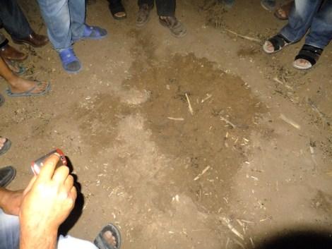 Çınar'da Gökten Esrarengiz Cisim Düştü 3