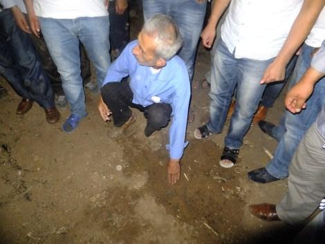 Çınar'da Gökten Esrarengiz Cisim Düştü 5