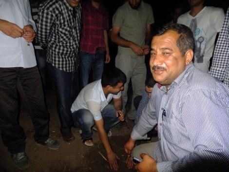 Çınar'da Gökten Esrarengiz Cisim Düştü 6
