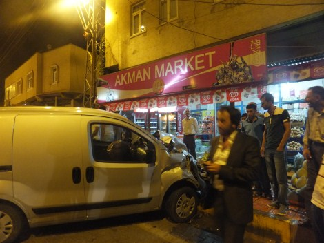 Çınar'da Trafik Kazası 5