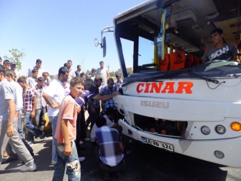 Çınar'da Trafik Kazası 2