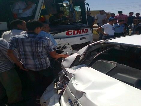Çınar'da Trafik Kazası 7