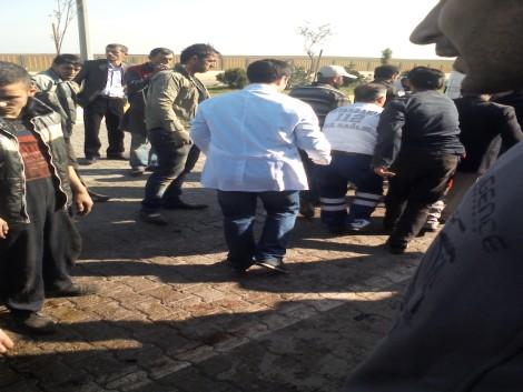 Çınar`da Trafik Kazası: 1 Ölü 1