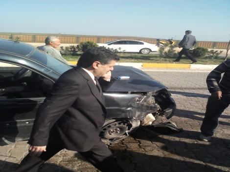 Çınar`da Trafik Kazası: 1 Ölü 3