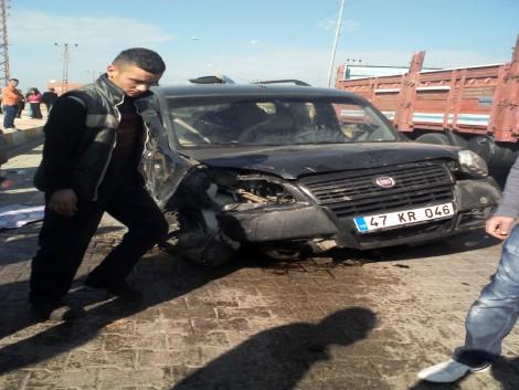 Çınar`da Trafik Kazası: 1 Ölü 6