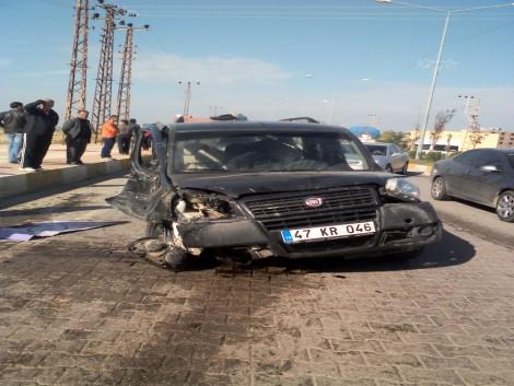 Çınar`da Trafik Kazası: 1 Ölü 7