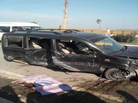 Çınar`da Trafik Kazası: 1 Ölü 8