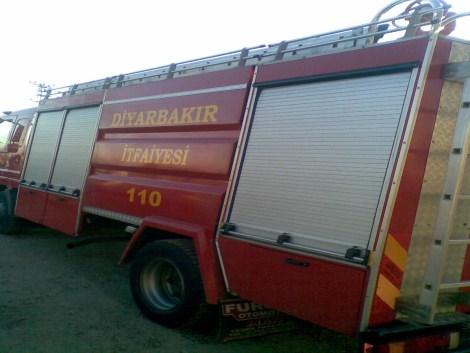 Çınar Devlet Hastanesinde Yangın 1