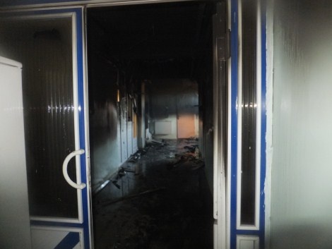Çınar Devlet Hastanesinde Yangın 11