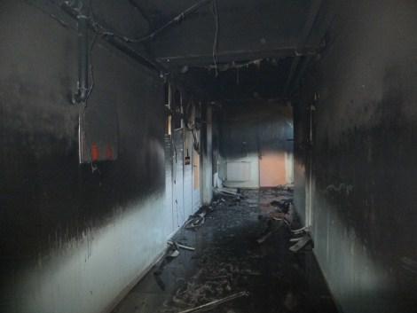 Çınar Devlet Hastanesinde Yangın 12