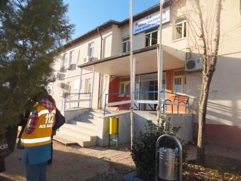 Çınar Devlet Hastanesinde Yangın 14