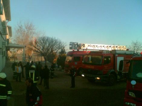 Çınar Devlet Hastanesinde Yangın 15