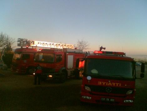 Çınar Devlet Hastanesinde Yangın 16
