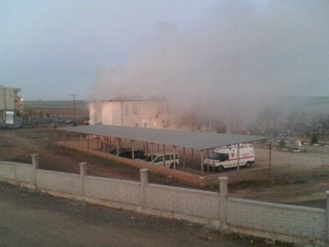 Çınar Devlet Hastanesinde Yangın 18